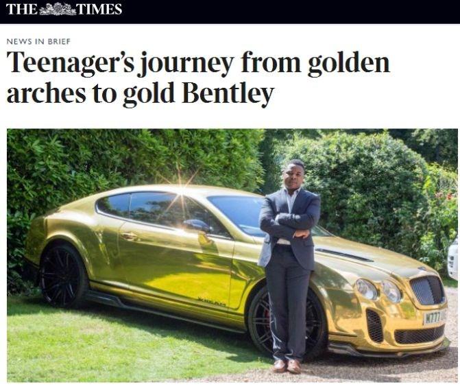 Сказка о золотом Bentley – а был ли мальчик-трейдер ?